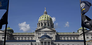 Photo of the Pennsylvania Capitol Building