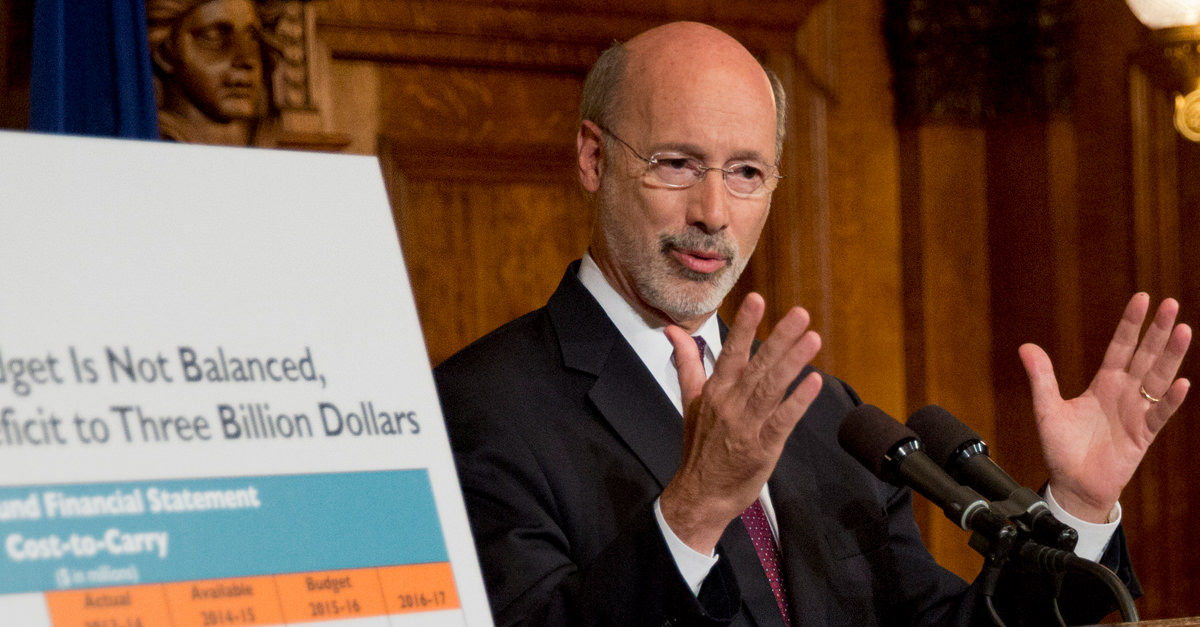 Governor Wolf vetoes Republican budget