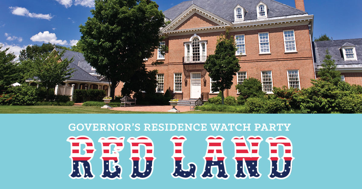 Red Land watch party at the Governor's Residence
