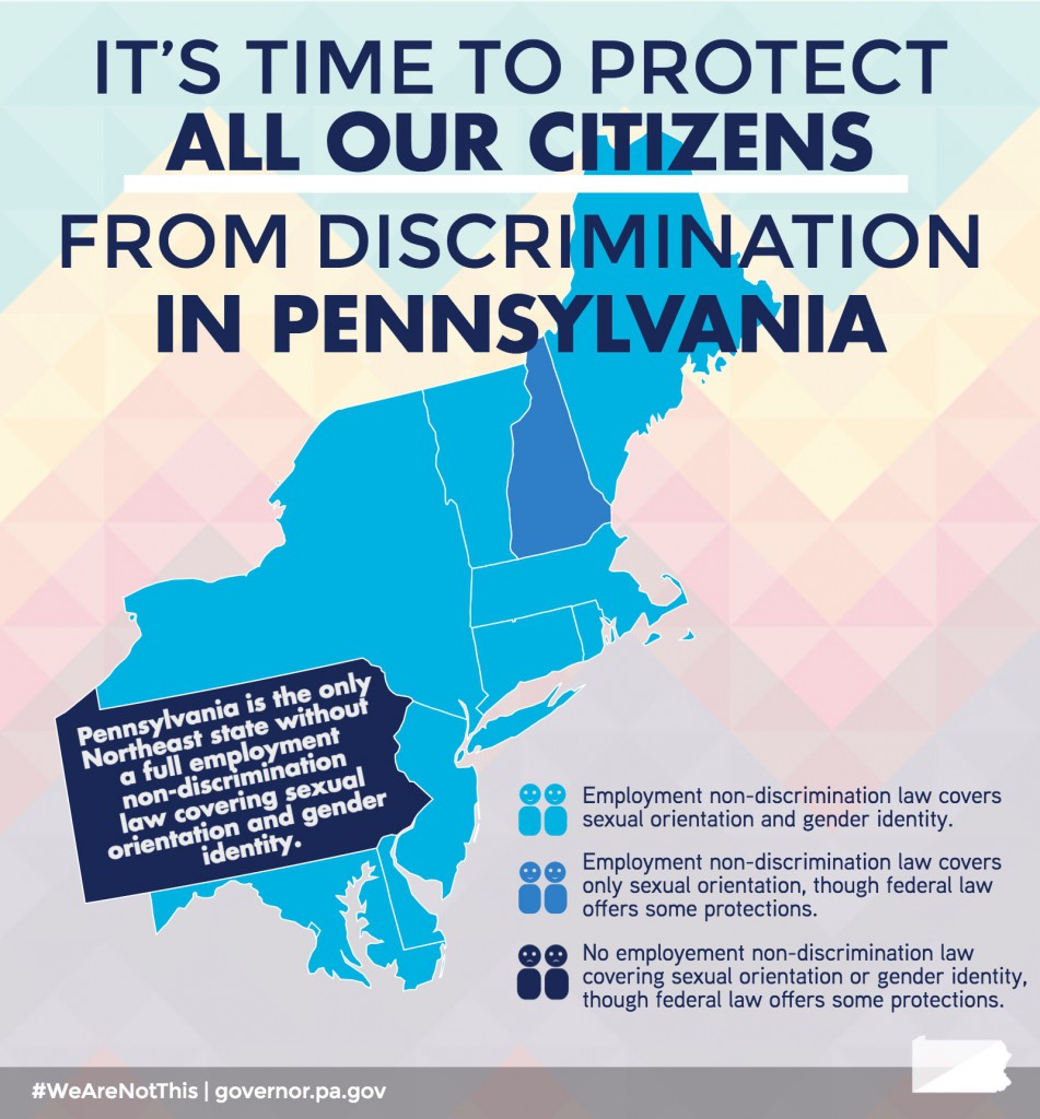 BLOG: PA Legislature Is Behind on Non-Discrimination