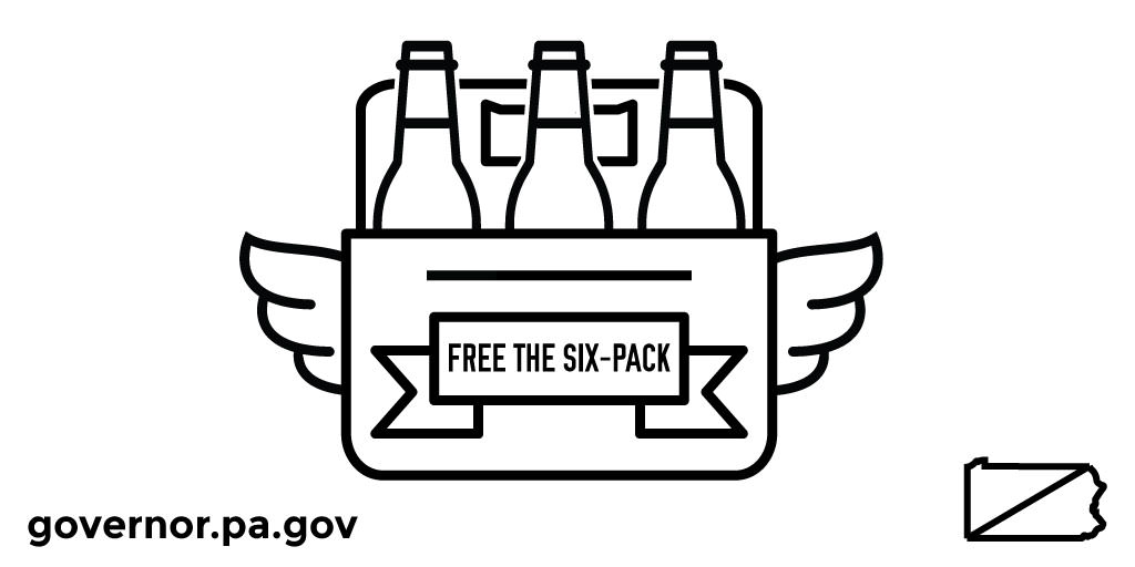 Free the Six Pack at Gas Stations in PA