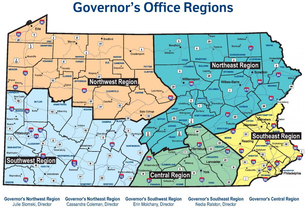 Governor-Office-Regions-Map