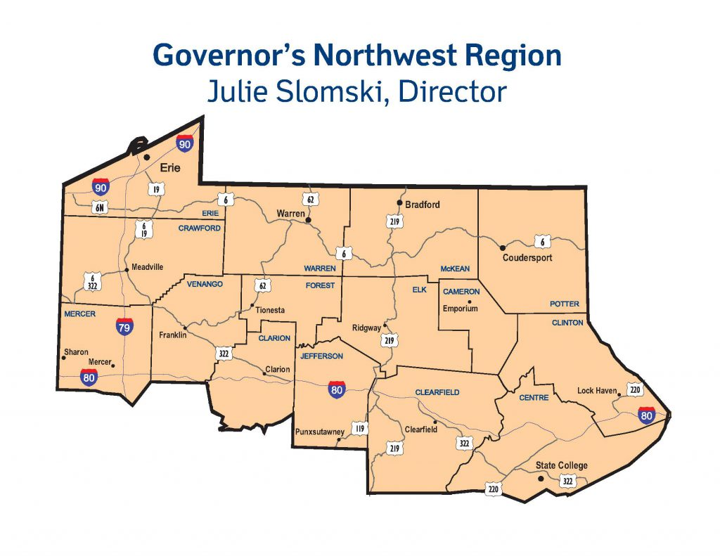Governors-Northwest-Region-Map