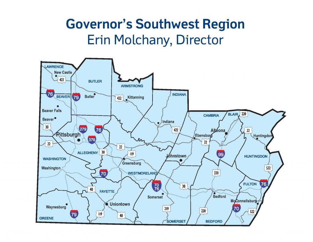 Governors-Southwest-Region-Map