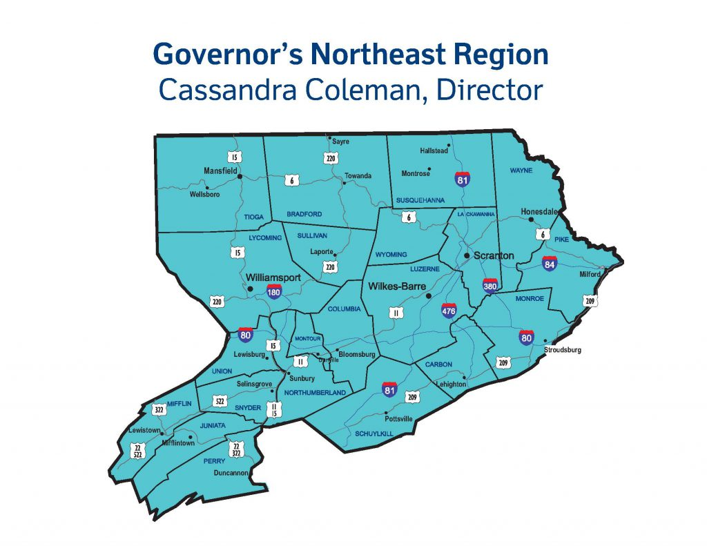 Governors-Northeast-Region-Map