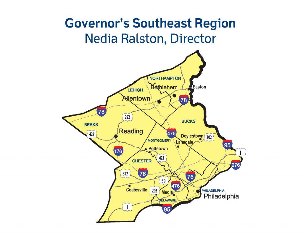 Governors-Southeast-Region-Map