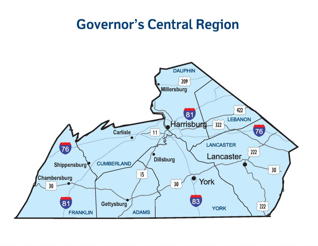 Governors-Central-Region-map
