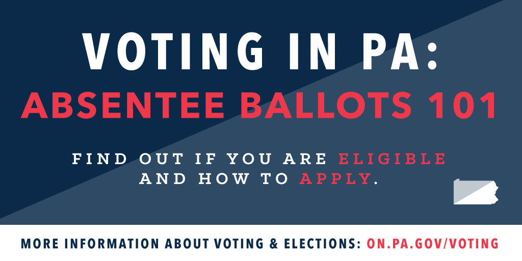 Voting In Pa Absentee Ballot 101