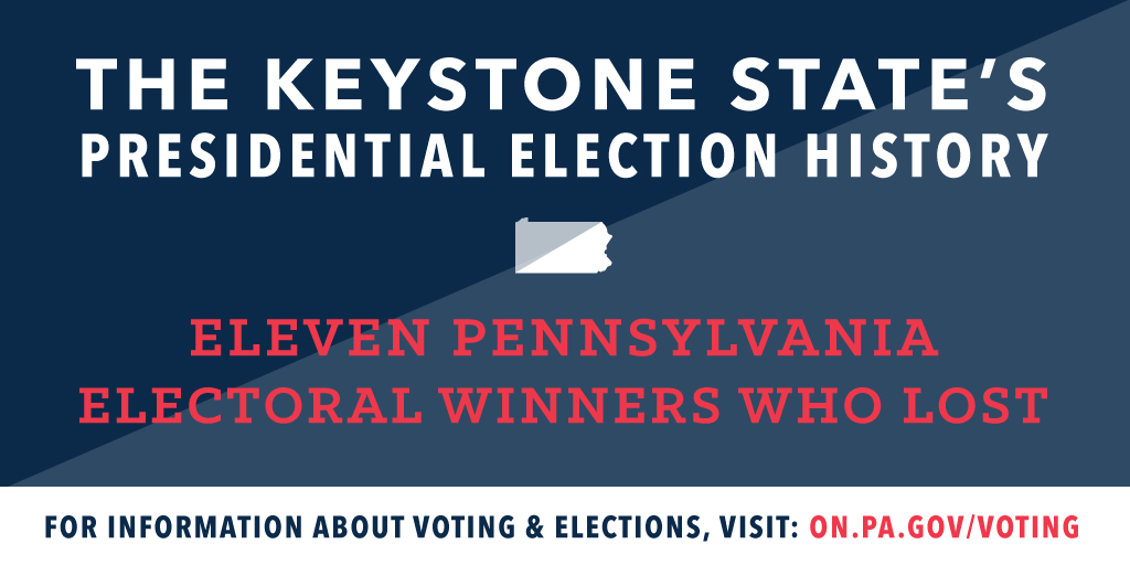 PA\'s Presidential History: 11 Electoral Winners Who Lost