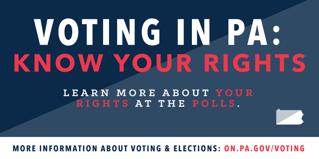 Voting In Pa Know Your Rights