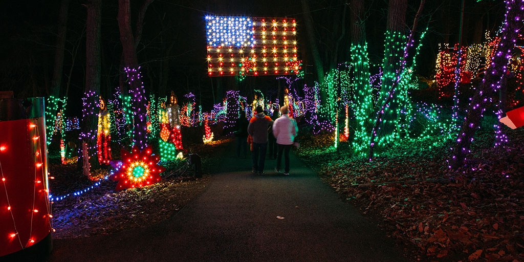 Christmas Lights In Pa.Visit Pa To Enjoy The Spirit Of The Holiday Season