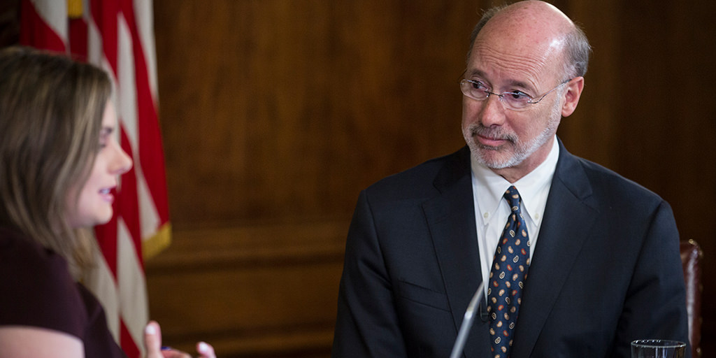 Governor-Wolf-on-Facebook-Town-Hall