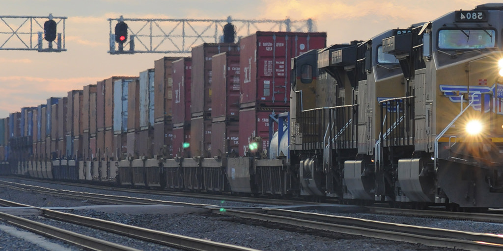 Image of a freight train