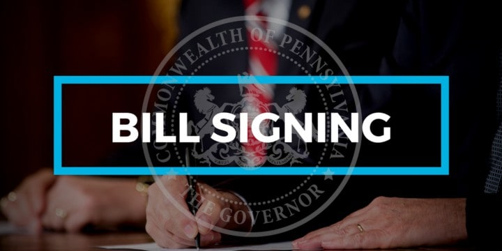 bill signing graphic
