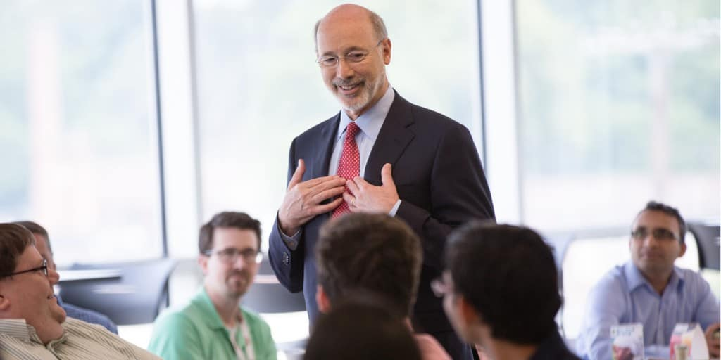 Photo of Governor Wolf