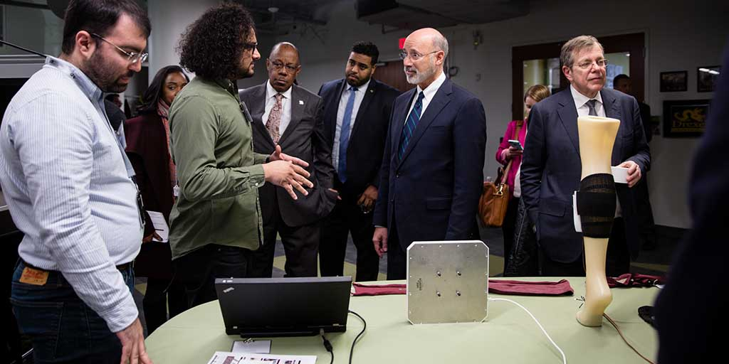 Image of Governor Wolf at Drexel University