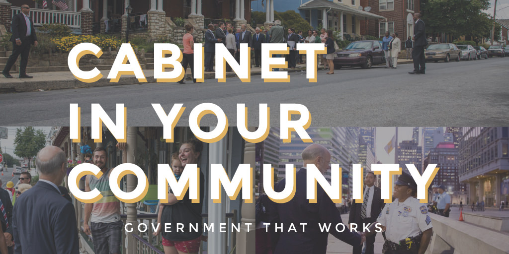 Graphic for Cabinet In Your Community