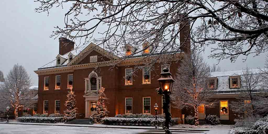 First Lady Frances Wolf Opens Governoru0027s Residence For Holiday Tours, Open  House