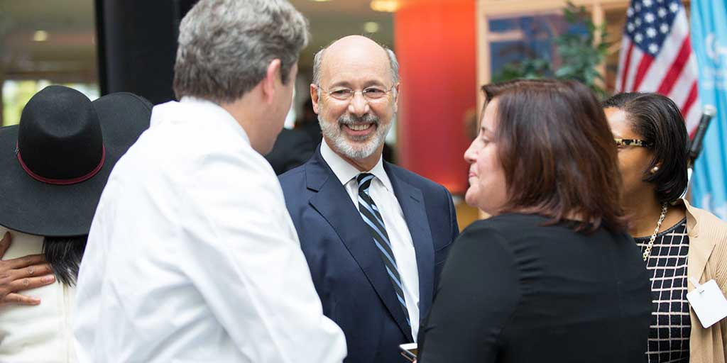 Governor Wolf Announces Landmark UPMC and Highmark Agreement