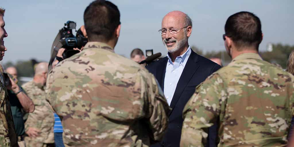Wolf Thanks PNG Soldiers, Families at Deployment Ceremony