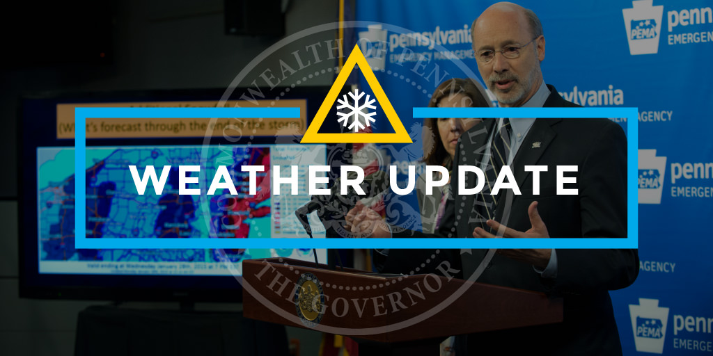 Graphic for winter weather news
