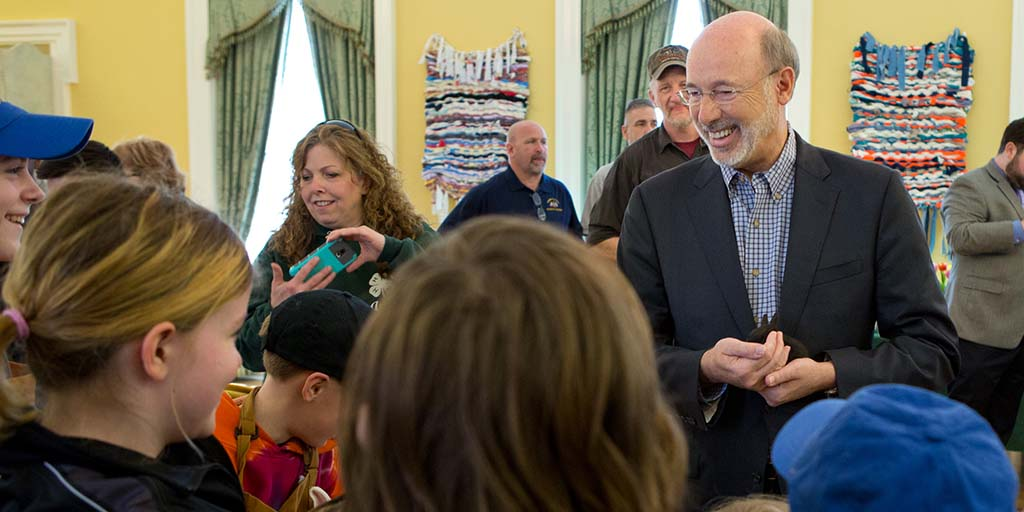 Gov And First Lady Wolf Host Easter Event Highlight Pre K Investment