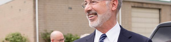 Image of Governor Tom Wolf outdoors.