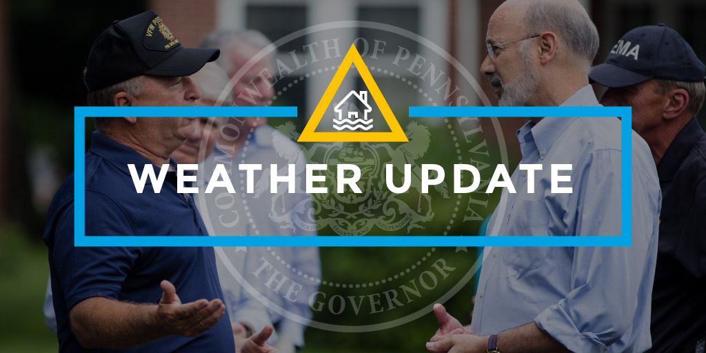 Wolf Thanks Emergency Personnel, Updates on Flash Flooding