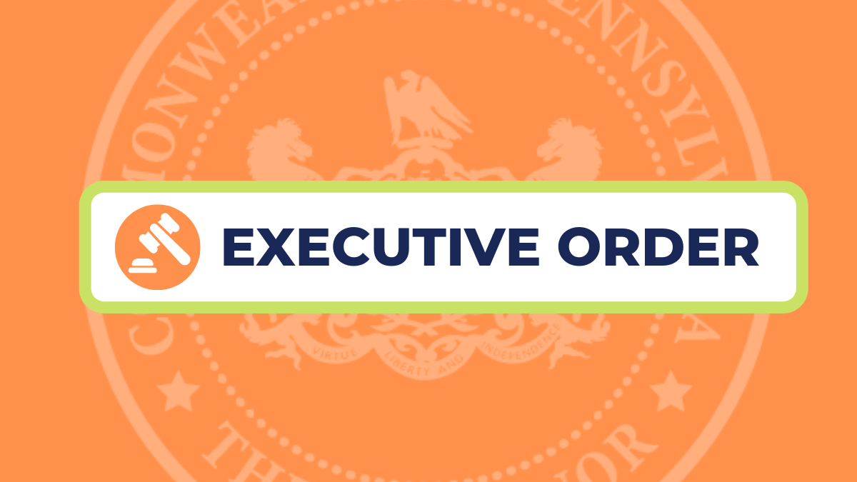 Executive order graphic.