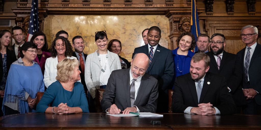Governor Wolf Signs Bill