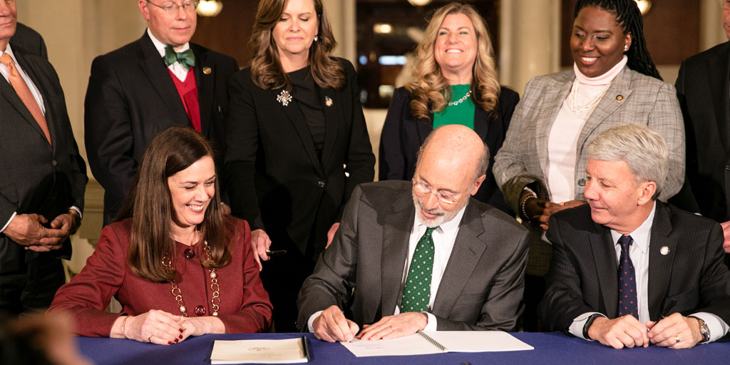 Governor Wolf signs two bills