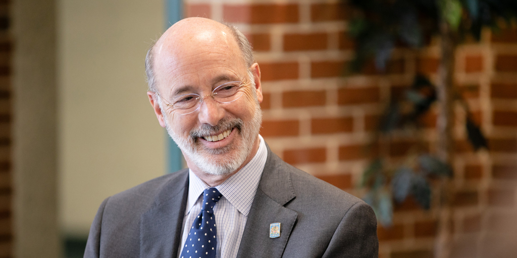 Governor Tom Wolf Smiling
