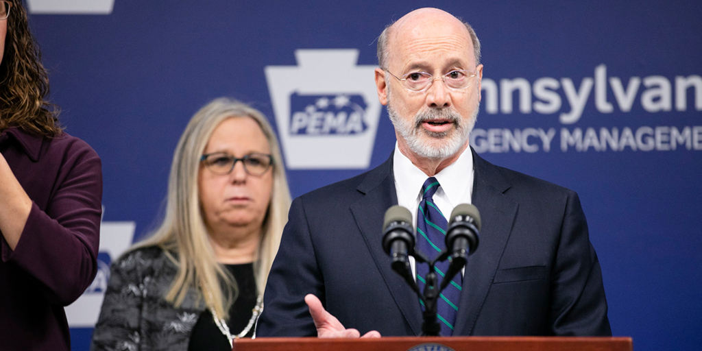 governor wolf and health secretary expand  u2018stay at home